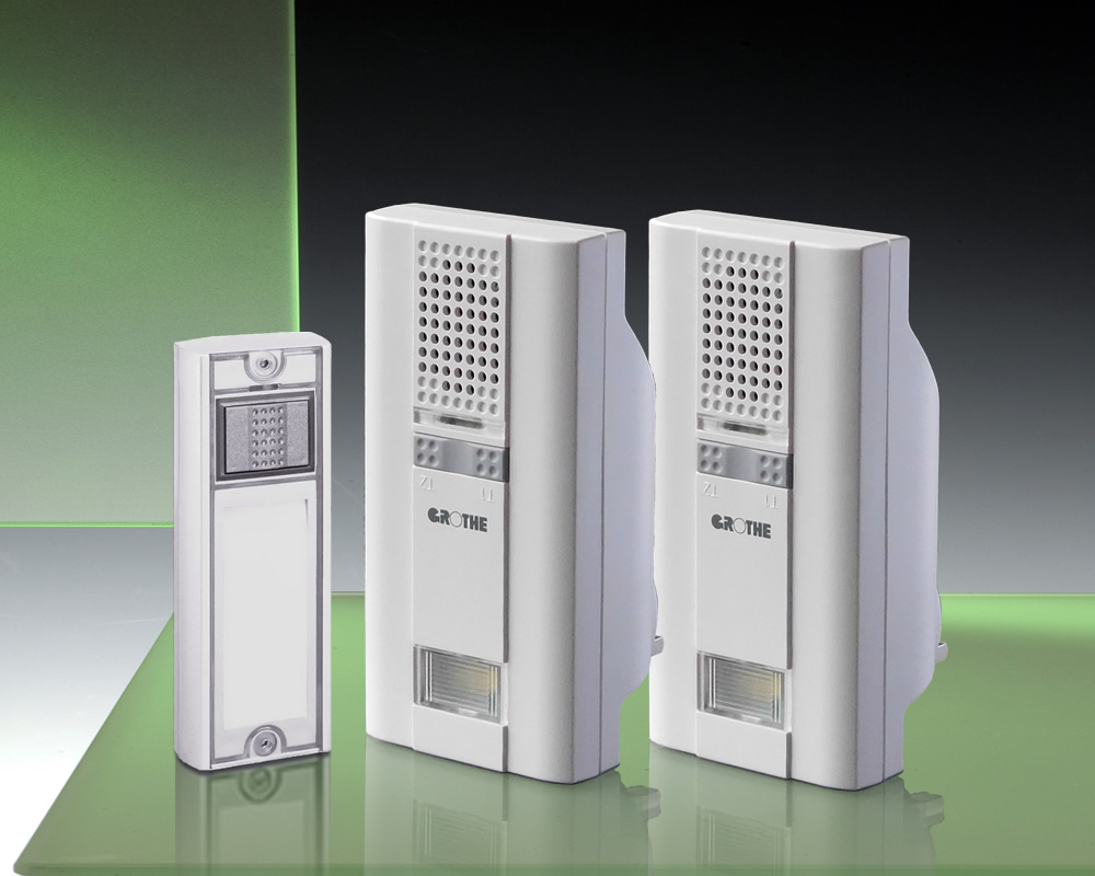 Additional Plug-in Wireless Chime. Grothe Mistral 400E