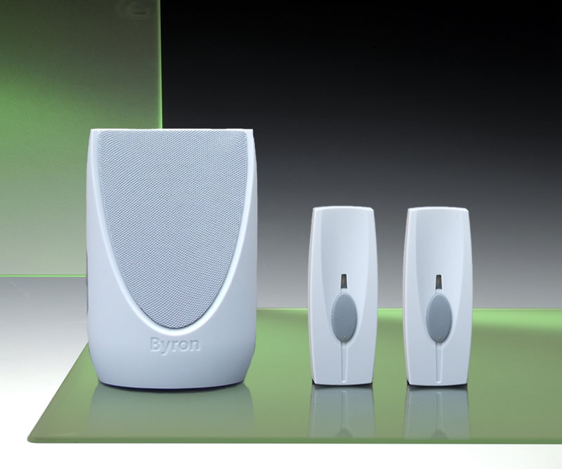 100m Portable Front Door Back Door Wireless Chime Kit