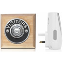 Byron Period Style Plug-in Wireless Doorbell, Natural/Visitor Ch