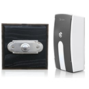 Byron Period Style Portable Wireless Doorbell, Ash/NickelRp