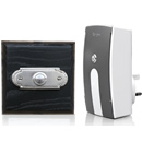 Byron Period Style Plug-in Wireless Doorbell, Ash/NickelRp