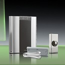 Libra+ Pro 200m Wireless Doorbell kit Extender/Wired Chrome Push