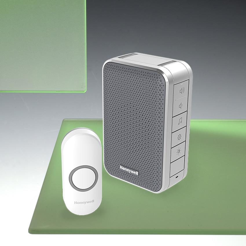 Honeywell 150m Wireless Portable Doorbell With Volume Control