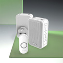 Honeywell 150m Wireless Portable and Plug-in Doorbell kit