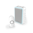 Honeywell 150m Wireless Portable With Halo Light Doorbell kit