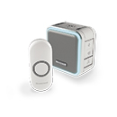 Honeywell (Friedland) 150m Wireless Portable Doorbell kit, Grey