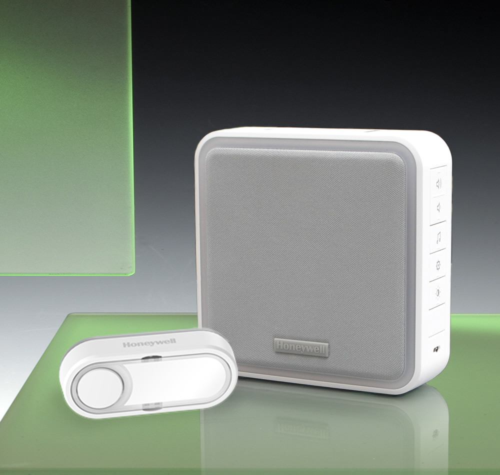 Honeywell 200m Wireless Portable Range Extender Doorbell