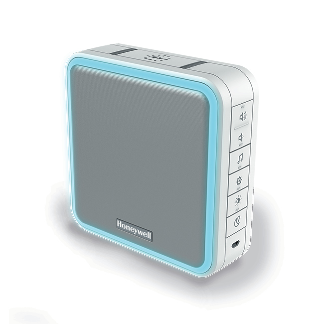 Honeywell Wired or Wireless Dual Purpose Chime unit, White ,